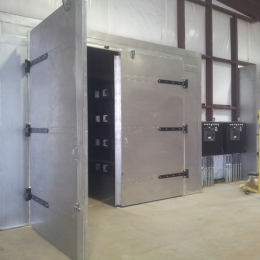 Large Convection Batch Oven