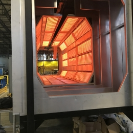 Electric IR Monorail Oven