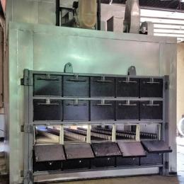 Multi-Door Gravity Wheel Oven