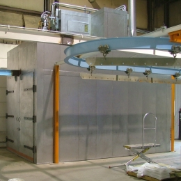 Overhead Conveyor Batch Oven