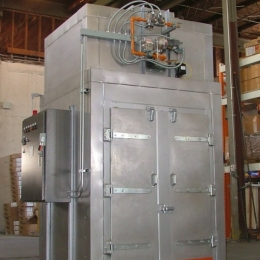 Top Burner Premier Batch Oven