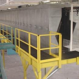 Overhead Conveyor IR Oven