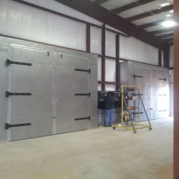 Gas Catalytic Infrared Batch Ovens