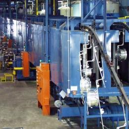 Dual Lane Wheel Washer