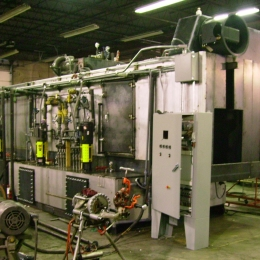 Dual-track Overhead Conveyor Washer